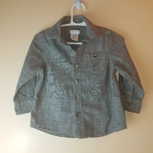 JOE Fresh long sleeves buttoned down shirt
